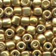05557 бисер Mill Hill, 3/0 Old Gold Pebble Glass Beads