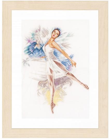 Балерины вышивка крестом купить