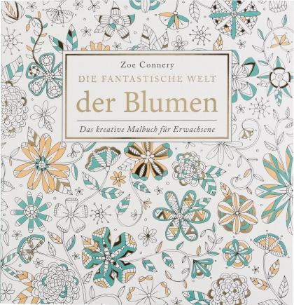 Купить Книжка-раскраска Цветы, Blumen Idena 68126 по ...