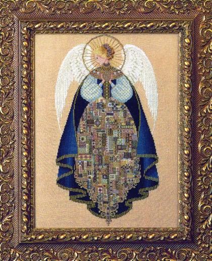 Купить вышивку ангел любви