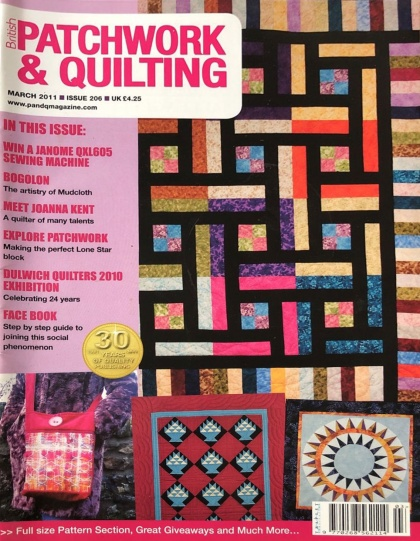 Журнал British Patchwork and Quilting № 206 (март 2011)