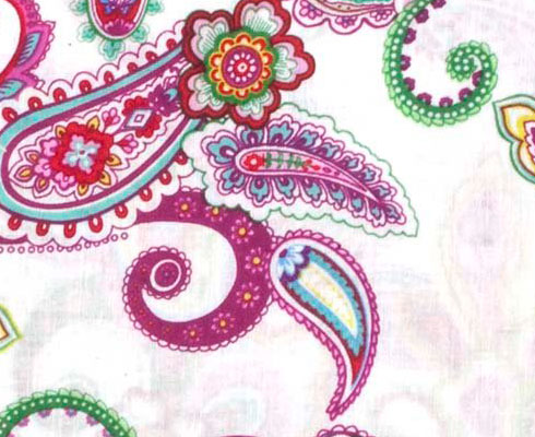 Набор тканей Punch of Paisley #2, Fabric Palette MD-G-BND-PP