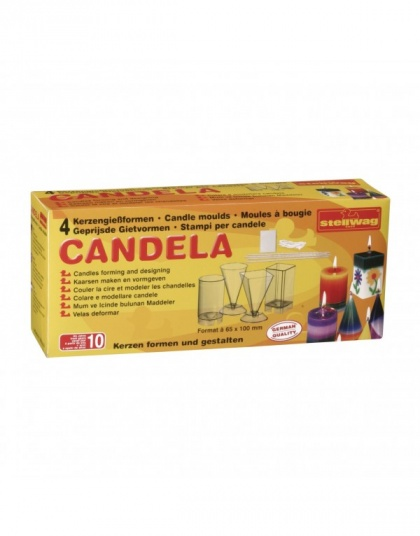 Набор форм Candle moulds, 4 формы
